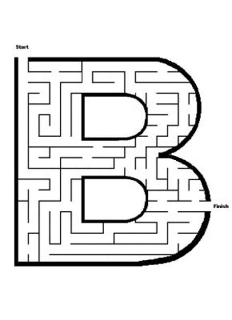 printable maze letter d alphabet mazes easy printable letter b maze james mazes