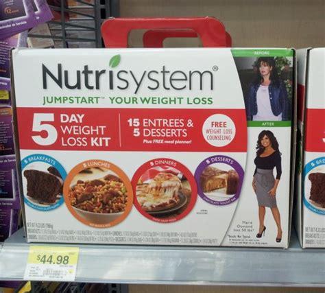 Thc Detox Kit Walmart by 4 Tips For Nutrisystem D 5 Day Jumpstart Weight Loss Kit