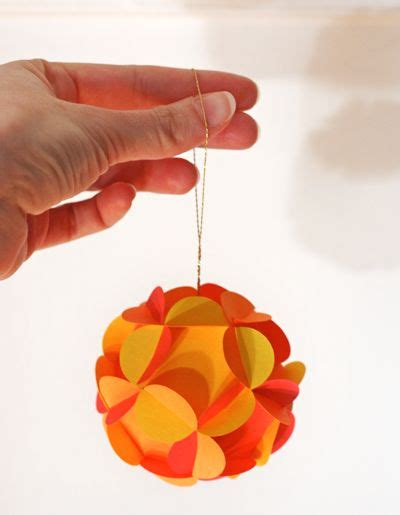 Different Paper Crafts - how to make 3d paper ornaments by howaboutorange
