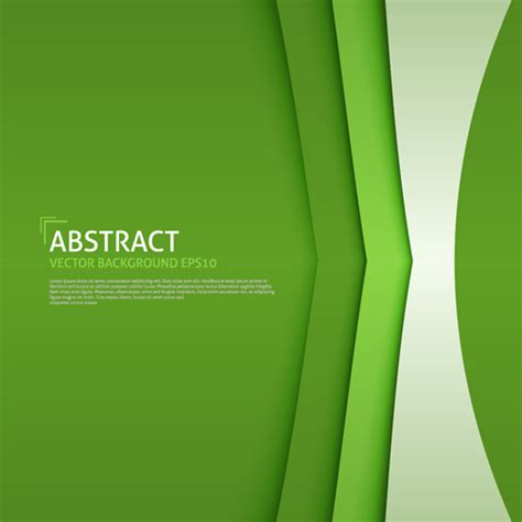 Business background green style design vector 01 ? Over