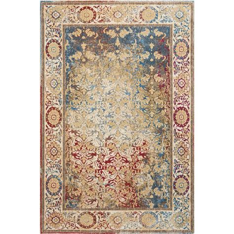 multicolor rugs nourison cordoba multicolor 3 ft 11 in x 5 ft 11 in area rug 389237 the home depot