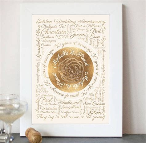Wedding Anniversary Gifts 100 by 1000 Ideas About Golden Wedding Anniversary Gifts On