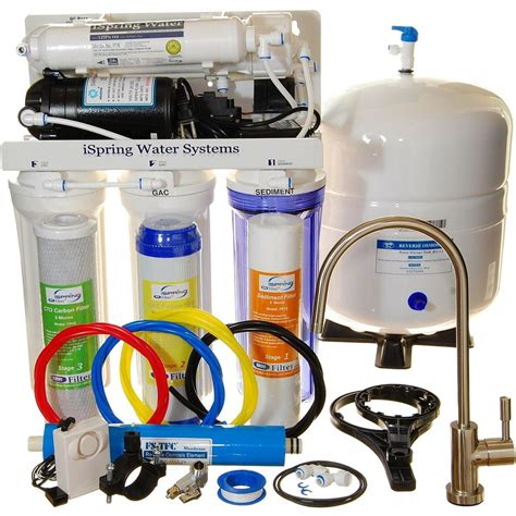 Seal Booster Ro ispring littlewell wqa gold seal 5 stage 75 gpd osmosis water filter system featuring