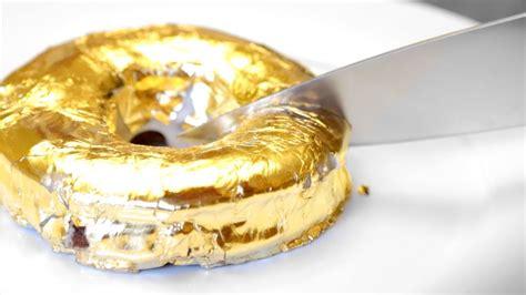 Donat Gold 100 gold donut