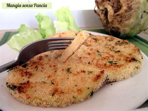 ricette di sedano rapa cotolette di sedano rapa al forno senza olio mangia