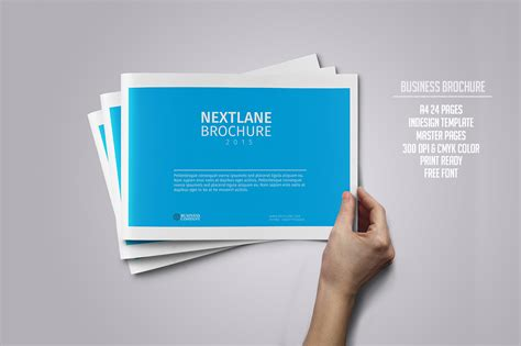 Business Brochure 24 Pages Brochure Templates On Creative Market Pages Brochure Template