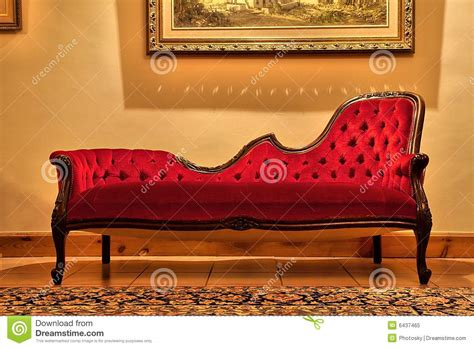 sofa painting expensive red sofa under painting royalty free stock photo