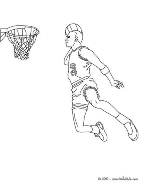 coloring pages of basketball players of the nba basketball player coloring pages free printable pictures