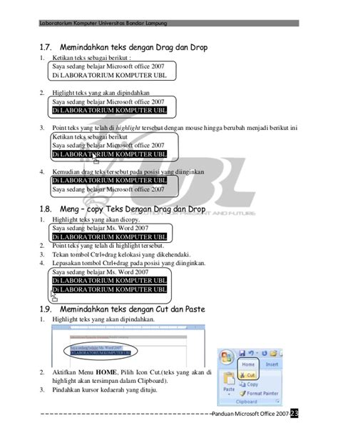 Bermain Kata Dan Gambar Pakai Ms Word 2007 1 panduan praktis ms office 2007