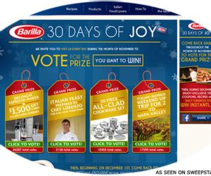 Barilla Sweepstakes - meme jewels clover leaf necklace giveaway sweepstakes directory