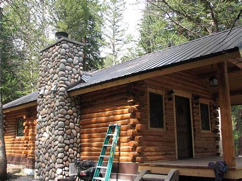 wyoming cabin in the woods