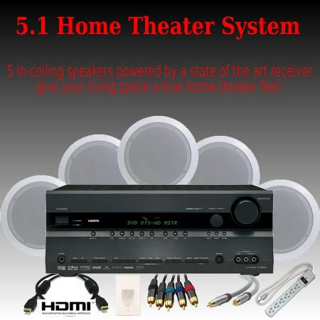 5 1 deluxe home theater system
