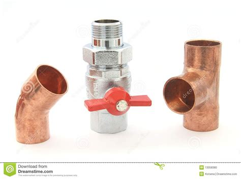 Plumbing Valves And Fittings by Plumbing Fittings Stock Photo Image 13058380