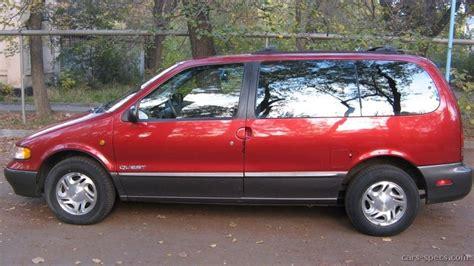 nissan quest 1996 1996 nissan quest minivan specifications pictures prices
