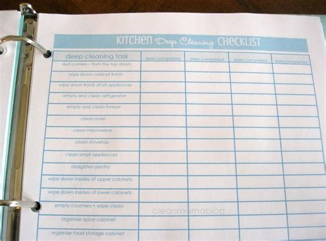 deep clean bathroom checklist 8 best images of deep cleaning checklist printable deep cleaning checklist kitchen
