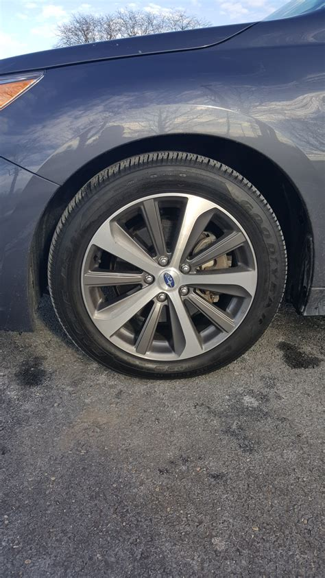 subaru legacy wheels fs nj 2016 subaru legacy limited 18 quot wheels with tires