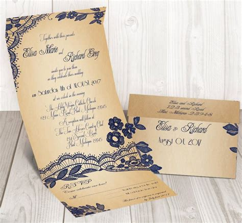 Cheap Wedding Invitation Seals by Lace Seal And Send Wedding Invitation Card Cheap