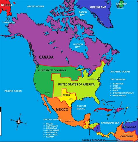 map of americas map of america by generalalcazar on deviantart