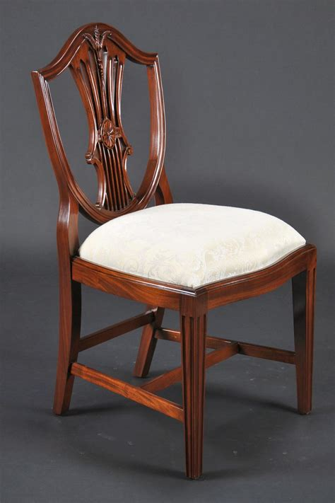 Strong Dining Room Chairs Small Vintage Size Shield Back Dining Room Chairs Solid Mahogany