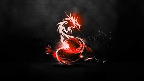 Wallpaper Abstract Dragon | abstract dragon wallpaper red carbon fibre black by