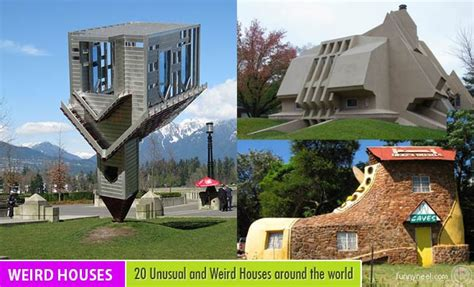Bizarre Houses | 20 unusual and weird houses around the world