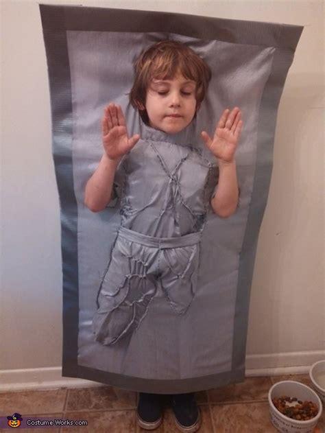 han solo  carbonite halloween costume photo