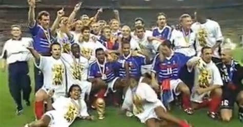 coupe du monde 98 musique vid 201 os coupe du monde 98 la victoire de l 233 quipe de