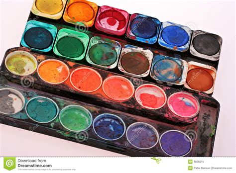 paint images old childrens paint set royalty free stock photo image