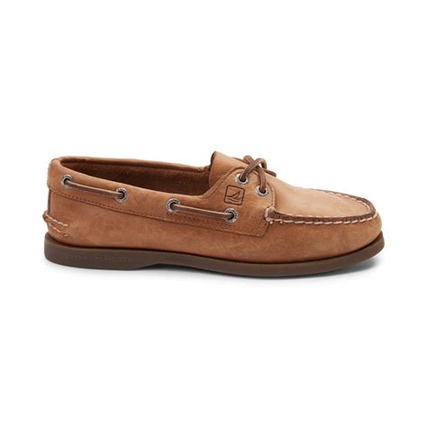 boat shoes for women womens sperry authentic original boat shoe tan 583402