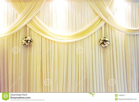 wedding curtains wedding stage royalty free stock photography image 14350577