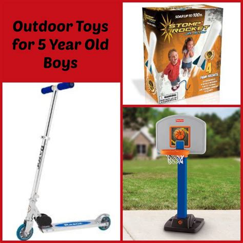 outdoor toys best toys for 5 year old boys