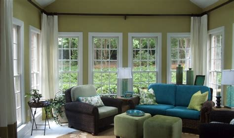 greensboro interior design window treatments greensboro - Sunroom Curtains Window Treatments