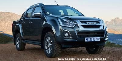 New Isuzu Specs & Prices in South Africa   Cars.co.za