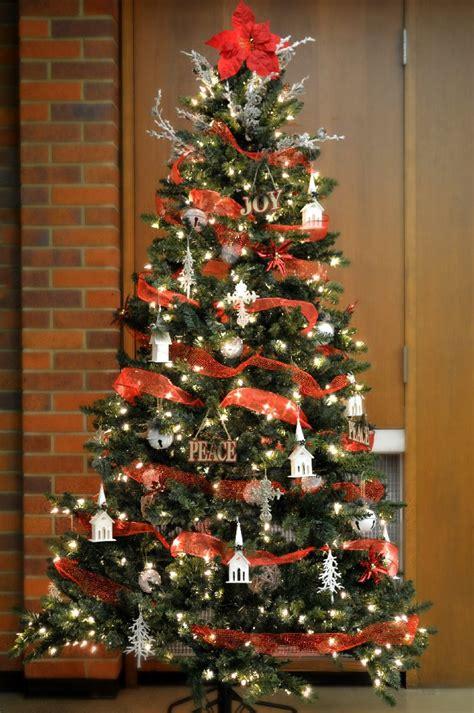 family dollar christmas tree country church tree with dollar store decorations mad in crafts