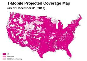 t mobile s new projected coverage map is beautiful