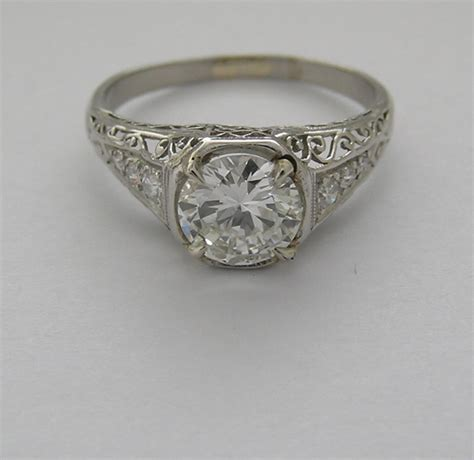 antique engagement ring settings wedding