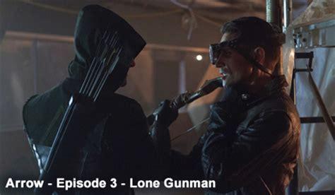 papp bett arrow season 1 episode 3 lone gunman