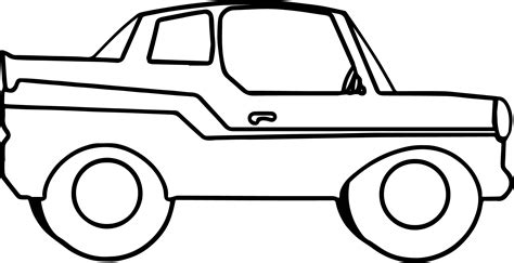 big car coloring page big toy car coloring page wecoloringpage