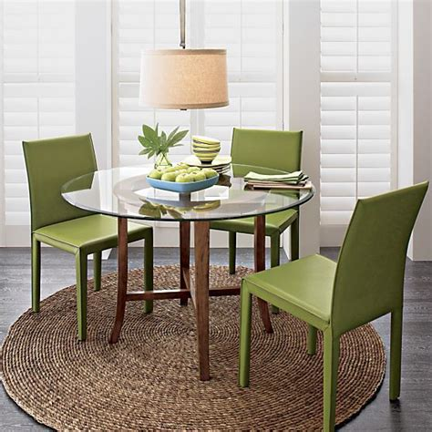 green leather dining room chairs 11013