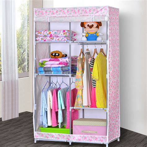 Pink Wardrobe Closet by Pink Wardrobe Closet For Clothes Storage Inother Folding
