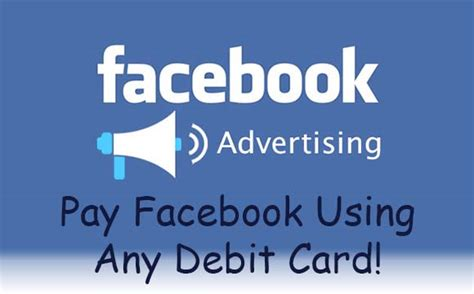 Facebook Gift Card For Advertising - pay facebook ads with debit cards in india