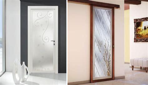 porte interne moderne in vetro emejing porte in vetro moderne ideas ameripest us