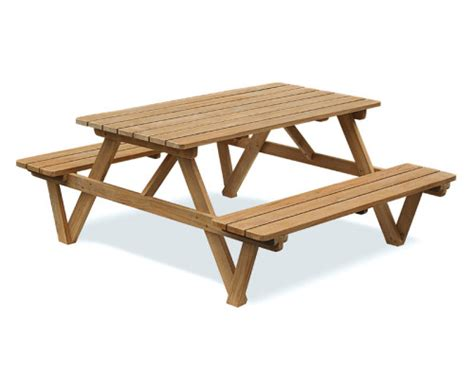 garden picnic benches teak wooden garden benches