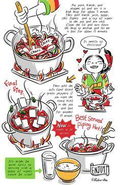 cook korean a comic book with recipes tangy and refreshing sea kelp salad recipe from banchan in