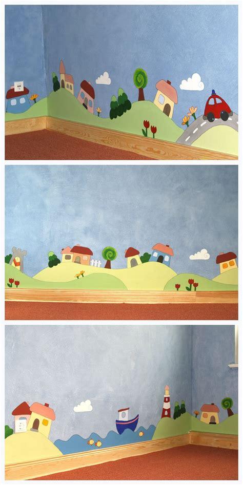 Kinderzimmer Wandgestaltung Ideen by Die 25 Besten Ideen Zu Wandgestaltung Kinderzimmer Auf