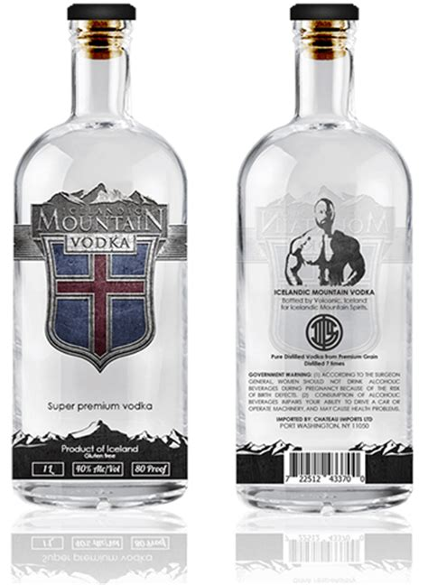 Iceland Vodka 500ml Grosir 1 mountain vodka