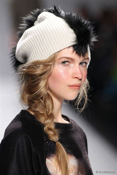 Hairstyles With Hats cozy 12 hairstyles to wear with hats this fall