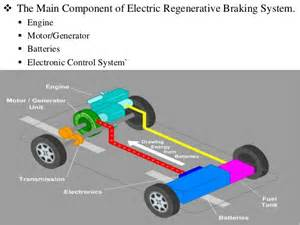 Brake System In Cars Ppt Regenerative Braking System