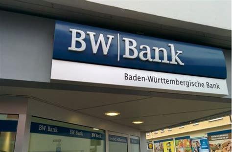 bw bank standorte umbau bei bw bank mehr als jede vierte stelle wird