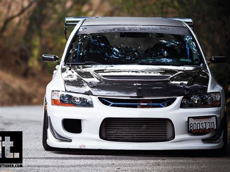 Wallpaper Car Evo by Import Tuner Cars Wallpapers Hd Wallpapers